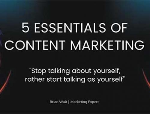 5 Essentials of Content Marketing