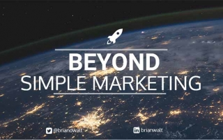 beyond simple marketing branding