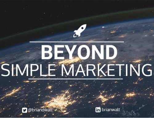 Beyond Simple Marketing… Branding!